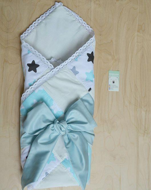 Для новорожденных, ручной работы. Ярмарка Мастеров - ручная работа. Купить Конверт на выписку лоскутное одеяло. Handmade. Конверт на выписку
