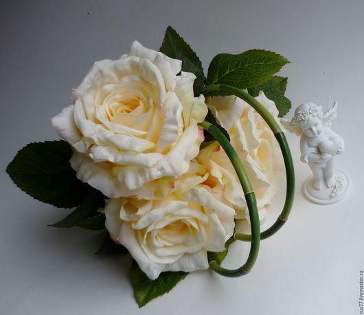 Свадебные цветы ручной работы. Ярмарка Мастеров - ручная работа. Купить Цв-45.1 Интерьерный или букет дублер невесте.. Handmade.