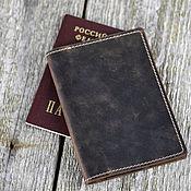 Сумки и аксессуары handmade. Livemaster - original item Leather Dockholder Passport Cover. Handmade.