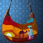 """Сумки и аксессуары ручной работы. Ярмарка Мастеров - ручная работа Кожаная сумка """"Африка"""". Handmade."""