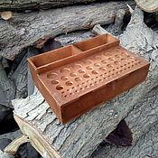 Материалы для творчества handmade. Livemaster - original item Organizer for tools. Handmade.