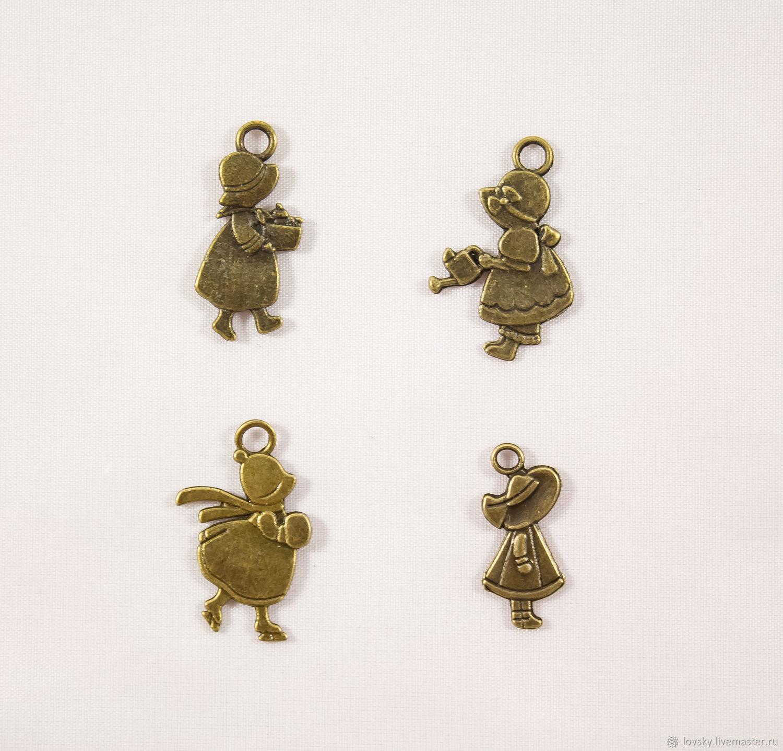 Charm pendants 'Little Sue', Pendants, Naro-Fominsk,  Фото №1