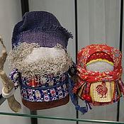 Народная кукла ручной работы. Ярмарка Мастеров - ручная работа Традиционные народные куклы Зерновушка (Крупеничка) и Богач. Handmade.
