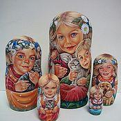Русский стиль ручной работы. Ярмарка Мастеров - ручная работа матрешка. Handmade.