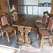 Для дома и интерьера ручной работы. Ярмарка Мастеров - ручная работа Мебель под старину из массива сосны. Handmade.