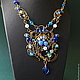 Necklaces & Beads handmade. Order Necklace Jamilya. color of magic. Livemaster. Фото №3