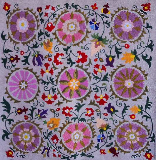 Home Textiles & Carpets handmade. Livemaster - handmade. Buy Tapestry embroidered.Star of the East..Lilac