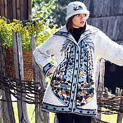 """Одежда ручной работы. Ярмарка Мастеров - ручная работа Sirogojno style """"В небе отражаются пейзажи"""". Handmade."""