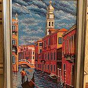 """Картины ручной работы. Ярмарка Мастеров - ручная работа """"Колокольня Сан-Марко.Венеция"""". Handmade."""