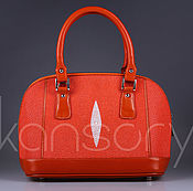 Сумки и аксессуары handmade. Livemaster - original item Bag leather Stingray IMC0548O. Handmade.