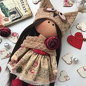 Тильда Зверята ручной работы. Ярмарка Мастеров - ручная работа Текстильная кукла Совушка. Handmade.