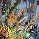 Натюрморт ручной работы. Картина маслом Утро в солнечных лучах. Ксения Дубинина (Жукова). Ярмарка Мастеров. Голубой, мазки