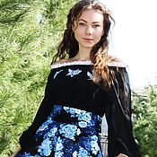 Одежда handmade. Livemaster - original item blouse-tunic