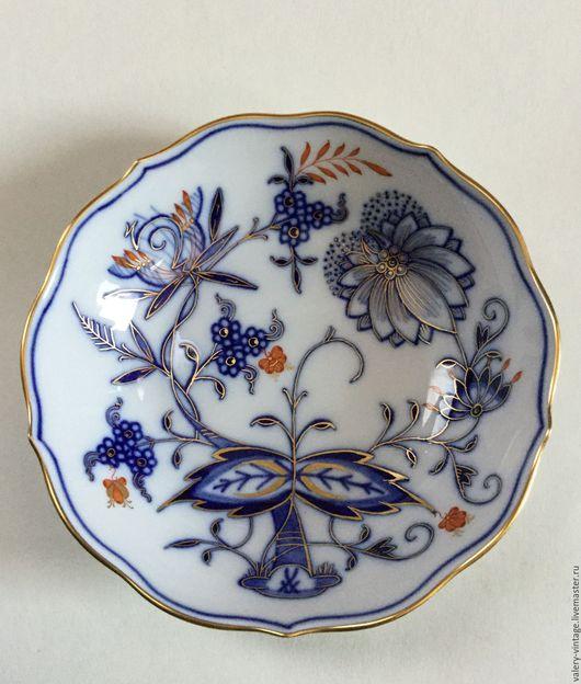Винтажная посуда. Ярмарка Мастеров - ручная работа. Купить Небольшая тарелка Мейсен.. Handmade. Комбинированный, винтаж, подарок, старые вещи