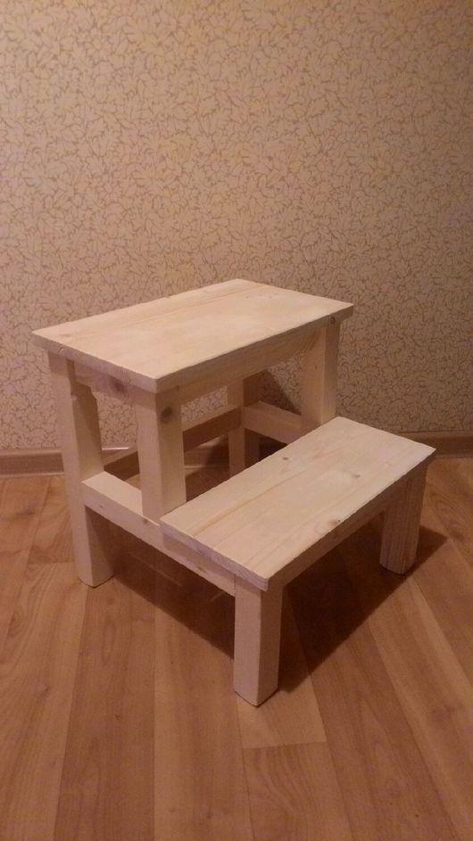 Мебель ручной работы. Ярмарка Мастеров - ручная работа. Купить Табурет-стремянка. Handmade. Табурет, табуретка дерево