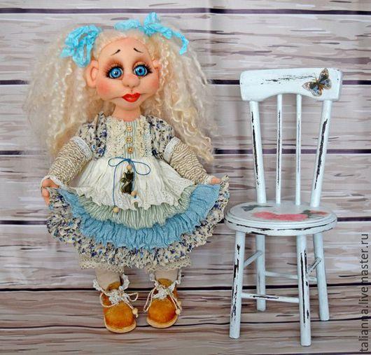 """Коллекционные куклы ручной работы. Ярмарка Мастеров - ручная работа. Купить Авторская кукла из капрона """"Антонина или просто Тонечка"""". Handmade."""