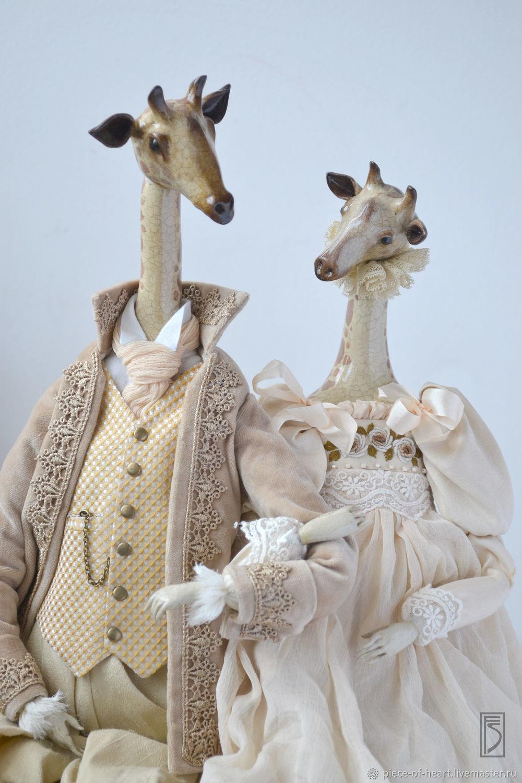 Giraffes. a series of 'my ark', Dolls, Khmelnitsky,  Фото №1