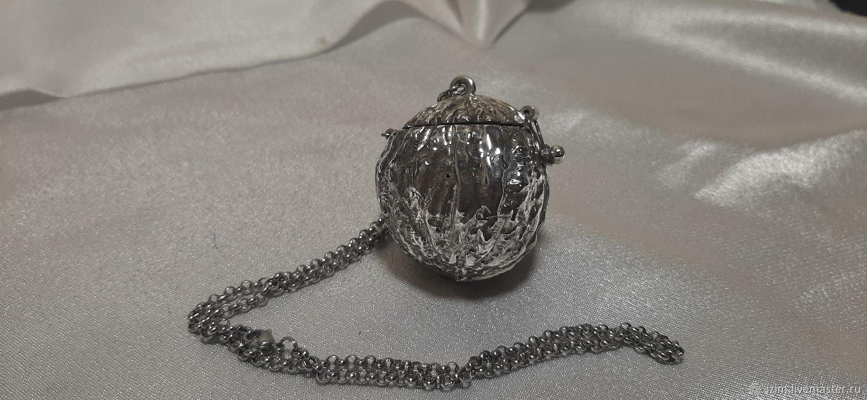 Заварочник из серебра и титана, Чайники, Санкт-Петербург, Фото №1