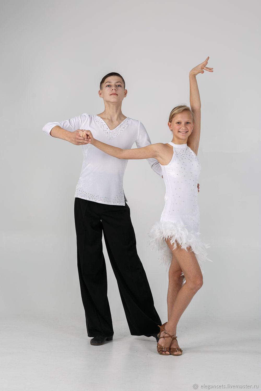 f855288a2e7 Танцевальные костюмы ручной работы. Ярмарка Мастеров - ручная работа. Купить  Мужская туника латина.