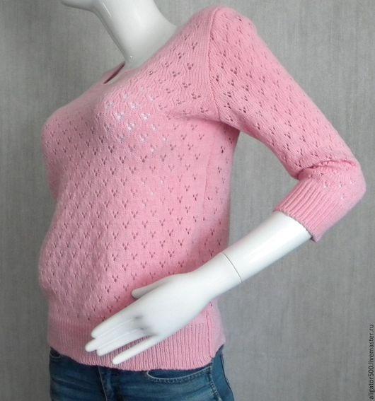 """Кофты и свитера ручной работы. Ярмарка Мастеров - ручная работа. Купить Пуловер женский  вязанный """"Rose"""". Handmade. Пуловер вязаный"""
