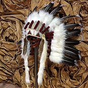Одежда ручной работы. Ярмарка Мастеров - ручная работа Индейский головной убор - Jamiroquai. Handmade.