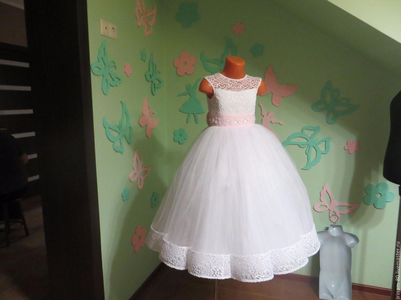 Праздничное платье девочке своими руками