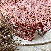 Для дома и интерьера ручной работы. Ярмарка Мастеров - ручная работа Филейная салфетка в винтажном стиле. Handmade.