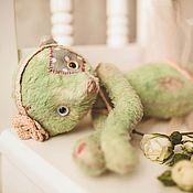 Куклы и игрушки ручной работы. Ярмарка Мастеров - ручная работа Музыкальная мишка Матильда. Handmade.
