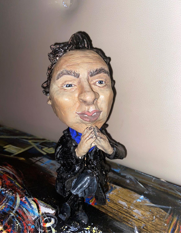 Шерлок - актер Бенедикт Камбербэтч, Портретная кукла, Нижний Новгород,  Фото №1