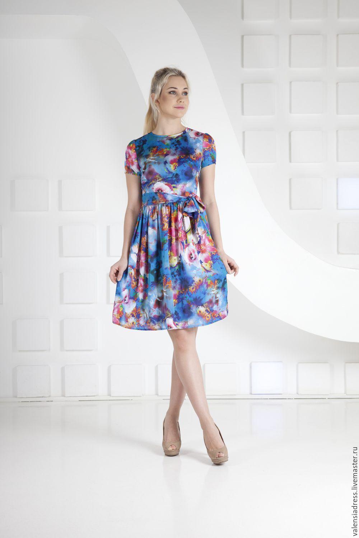 Где купить платье цветное