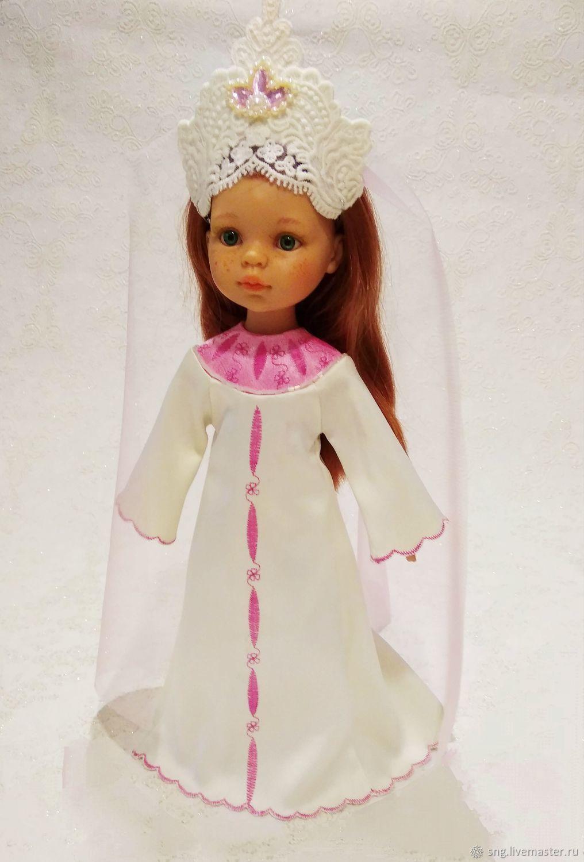 """""""Царевна -лебедь"""" для Паола Рейна  и аналогов:, Одежда для кукол, Всеволожск,  Фото №1"""