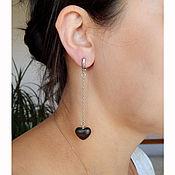 Украшения handmade. Livemaster - original item Hearts on chains.. Handmade.