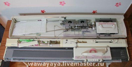 Вязание ручной работы. Ярмарка Мастеров - ручная работа. Купить Вязальная машина Бразер модель 892 Япония. Handmade. Для вязания