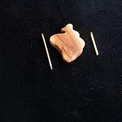 Украшения ручной работы. Ярмарка Мастеров - ручная работа Кулон из натурального дерева ЯБЛОНЯ. Handmade.