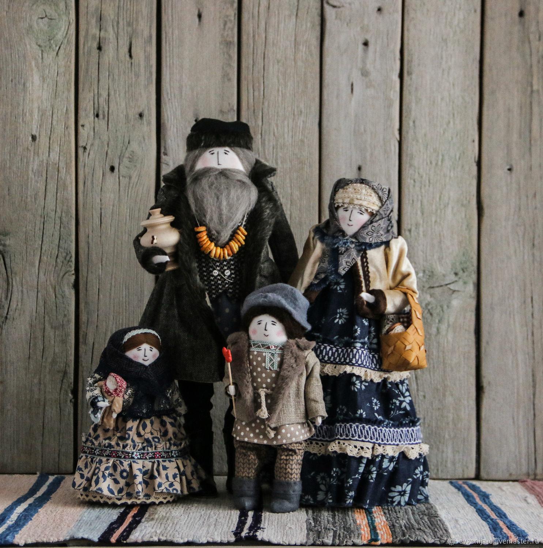 """Ярмарочные гуляния"" кукольная семья, Куклы и пупсы, Чебоксары,  Фото №1"