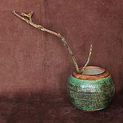 Для дома и интерьера ручной работы. Ярмарка Мастеров - ручная работа Круглая ваза Archeologia. Handmade.