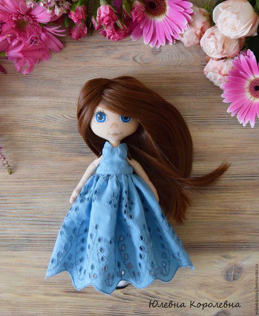 Коллекционные куклы ручной работы. Ярмарка Мастеров - ручная работа. Купить Текстильная кукла Алиса. Интерьерная, авторская, портретная.. Handmade.