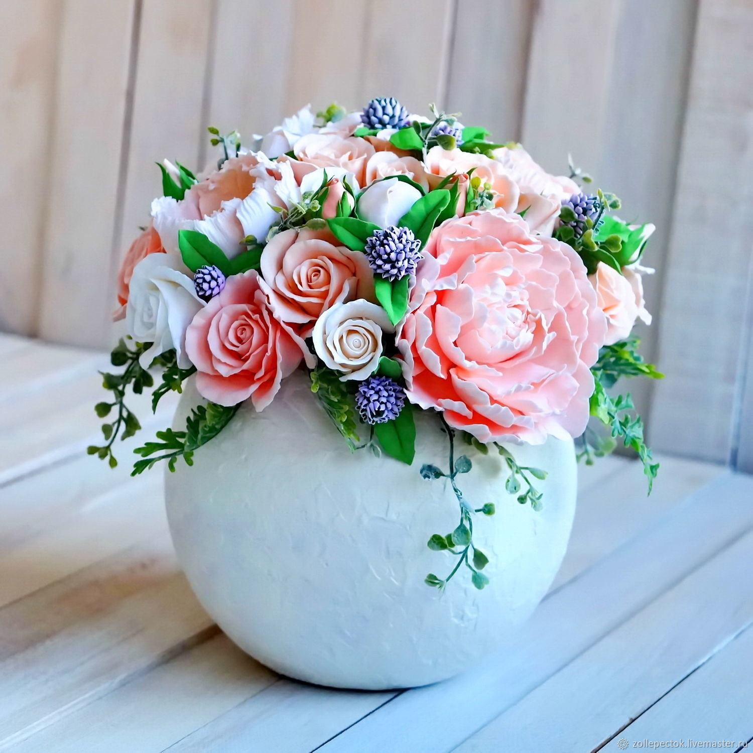 Flowers in a bowl shop online on livemaster with shipping florist arrangements handmade livemaster handmade buy flowers in a bowl izmirmasajfo
