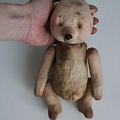 Куклы и игрушки ручной работы. Ярмарка Мастеров - ручная работа Деревянный мишка. Handmade.