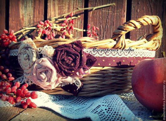 """Корзины, коробы ручной работы. Ярмарка Мастеров - ручная работа. Купить Корзина плетеная, конфетница """"Барбара"""". Handmade. Бежевый, кухня"""