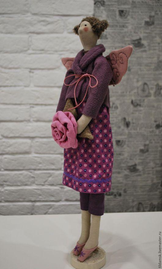 Куклы Тильды ручной работы. Ярмарка Мастеров - ручная работа. Купить Тильда цветочная фея. Handmade. Интерьерная кукла, цветы