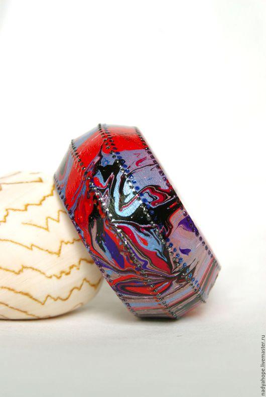 """Браслеты ручной работы. Ярмарка Мастеров - ручная работа. Купить Браслет """"Лед и пламя"""". Handmade. Голубой, яркий аксессуар"""