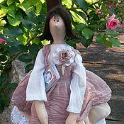 Куклы и игрушки ручной работы. Ярмарка Мастеров - ручная работа кула в стиле тильда.  Анита. Handmade.