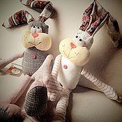 Куклы и игрушки ручной работы. Ярмарка Мастеров - ручная работа Счастливый Заяц. Handmade.
