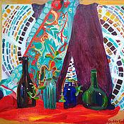Картины и панно handmade. Livemaster - original item Picture. Still life with mosaic. Handmade.