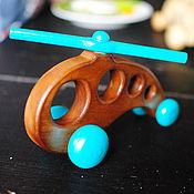 Куклы и игрушки ручной работы. Ярмарка Мастеров - ручная работа Вертолёт деревянный. Handmade.