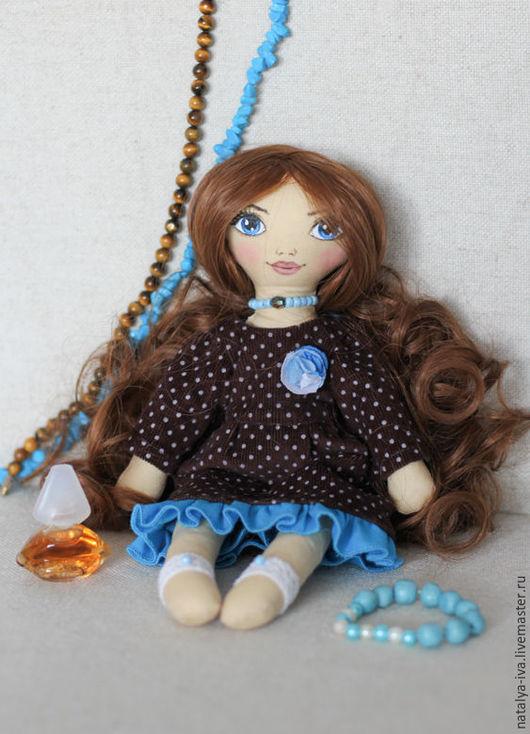 Текстильная кукла ручной работы. Ярмарка Мастеров - ручная работа. Купить текстильная кукла Ирэн. Handmade. Текстильная кукла