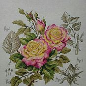 Картины и панно ручной работы. Ярмарка Мастеров - ручная работа Розы. Handmade.