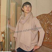 Одежда handmade. Livemaster - original item Knitted long pullover