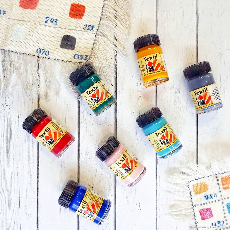 Краска по текстилю Marabu textil, Краски, Королев,  Фото №1